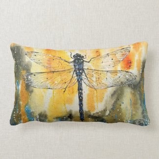 Dragonfly on my Window Pillows