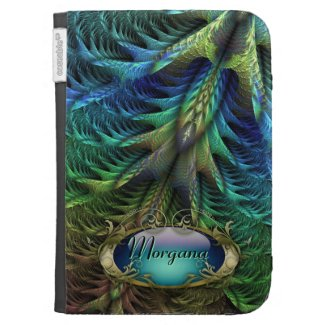 Feather tail personalized Caseable Case Kindle Cover