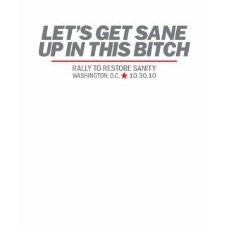 Get Sane shirt