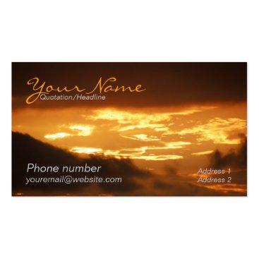 Golden Clouds Business Card
