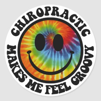 Groovy Chiropractic Stickers