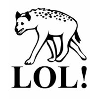 Funny T-Shirts & Gifts - Hyena - Laughing Out Loud LOL
