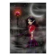 Lightning Stone Fairy Dragon Card