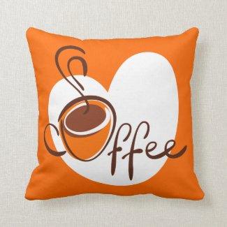 Love Coffee Pillows