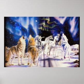 Majestic Animals Poster