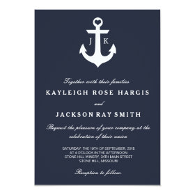 Nautical Wedding Invitations | Wedding