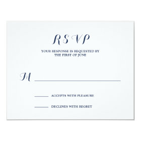 Nautical | Wedding Response Card