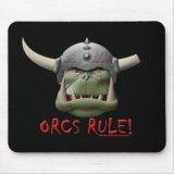 Orcs Rule! Mousepad