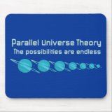 Parallel Universe Theory Mousepad