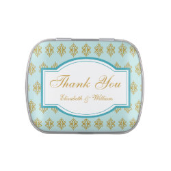 Personalized Wedding Candy Tin