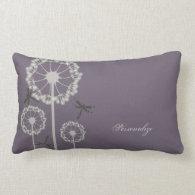 Purple Dragonflies American MoJo Pillow