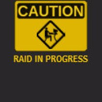 Worlds O' Warcraft Geeks T-Shirts & Gifts - Caution: Raid In Progress
