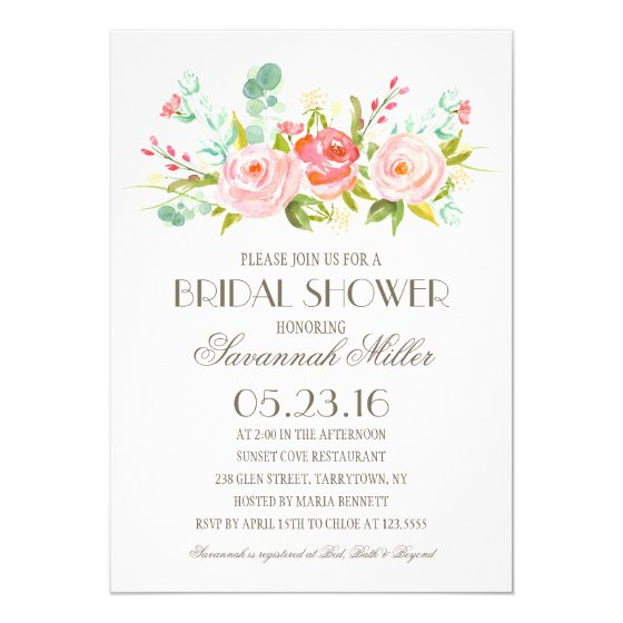 Rose Garden | Bridal Shower Card