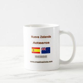 Spain, España, Nueva Zelanda Coffee Mug