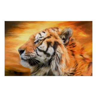 Tiger Sky Posters
