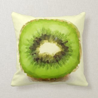 Watercolor Kiwi Fruit