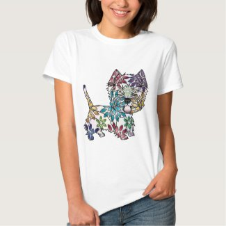 West Highland White Terrier - Colored T-shirt