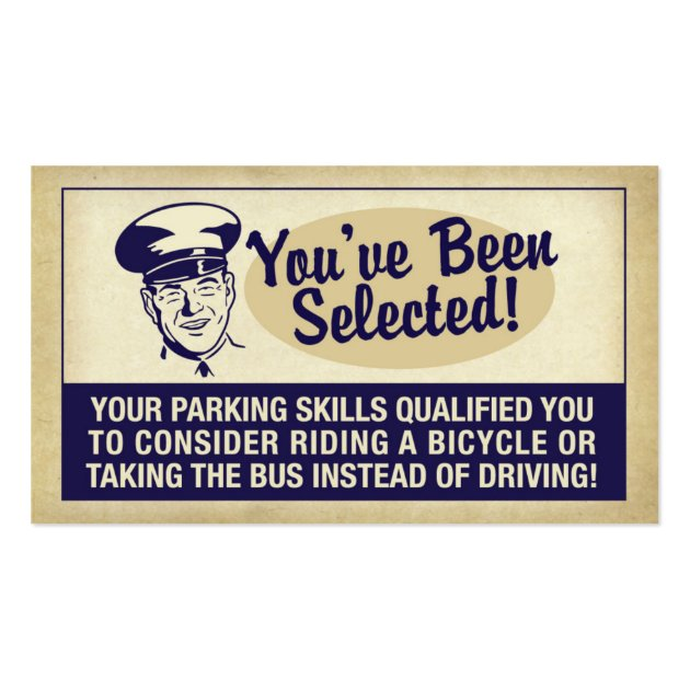 You've Been Selected! Business Card | Zazzle