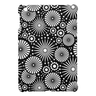 retro schwarz weisses blumen ipad minifall r624b9bb2c75a4ed6bd54e910566ac4f4 vaspz 8byvr 325 Retro black white flowers iPad Mini Case
