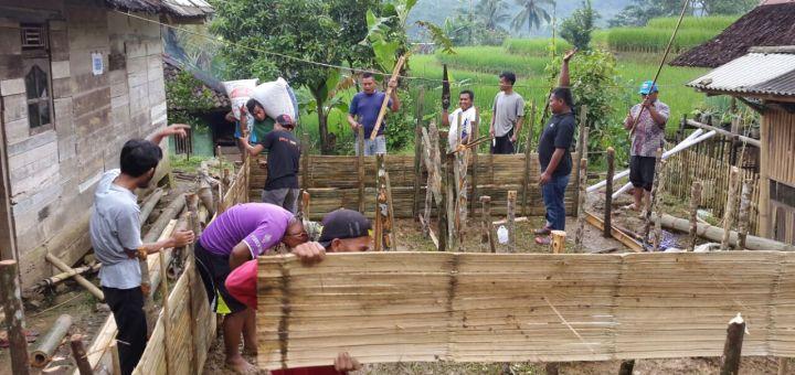 Pembuatan Kolam Budidaya Lele (Dok ;  Waris)