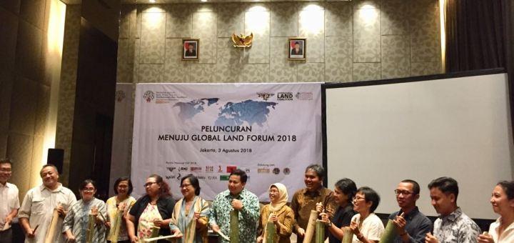 Peluncuran Menuju Global Land Forum (GLF)  2018