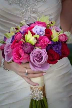 Colorful Bride's Bouquet
