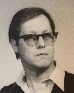 Jack Bottorf as seen in my Senior yearbook, 1983.
