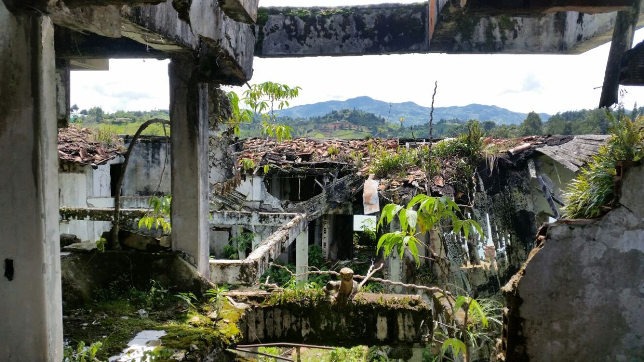 Drinking Cheap Beer in the Ruins of Pablo Escobar's Summer House