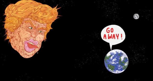 Dispatches from an Anti-TrumpPlanet