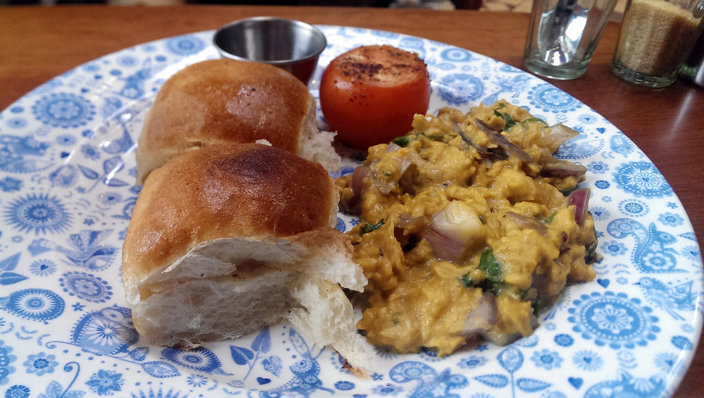 Less Insipid Scrambled Eggs Designed for the Indian Palate