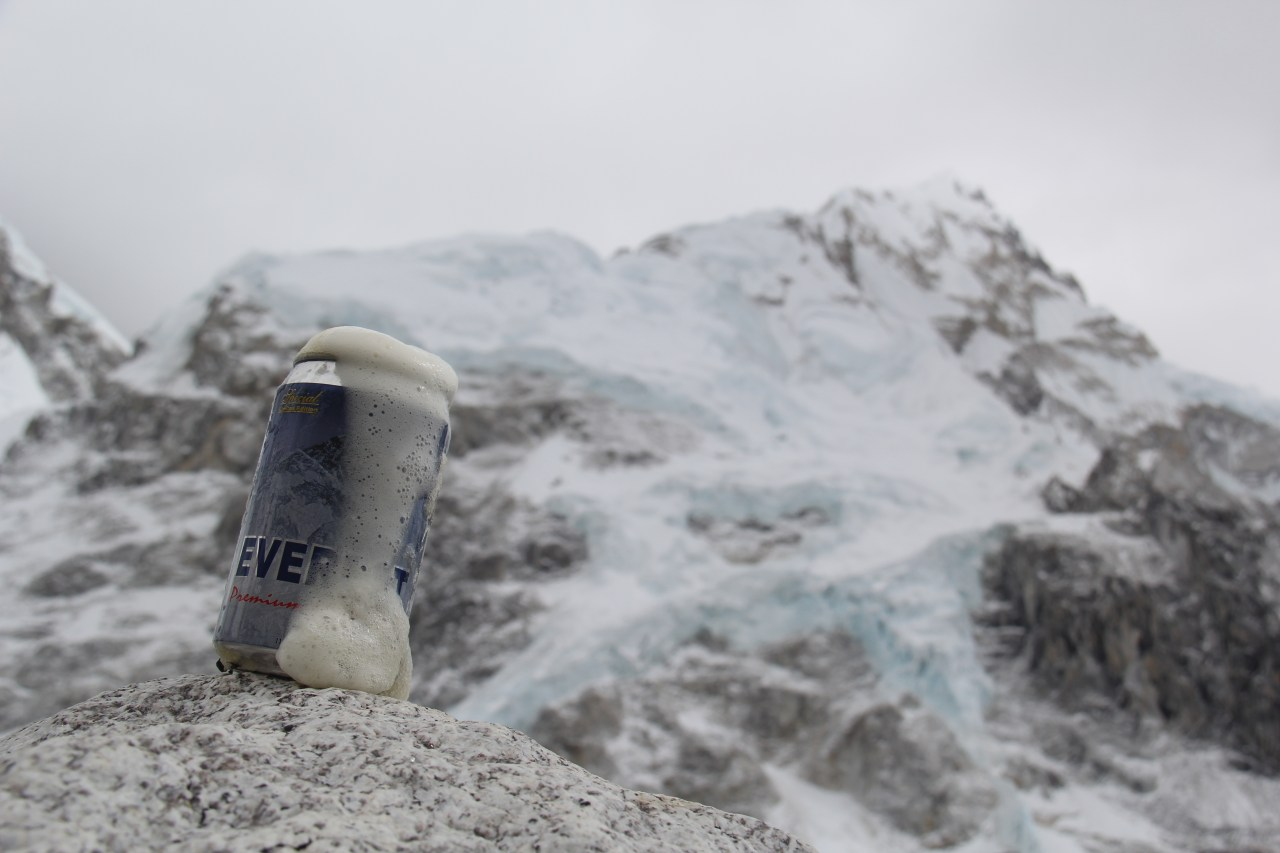 I Went to Mount Everest And All I Got Was This Beer Slushie