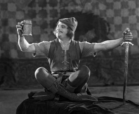 In celebration of the life and career of one of HollywoodÍs earliest movie stars, the Academy of Motion Picture Arts and Sciences will premiere its new exhibition, ñDouglas Fairbanks: The First King of Hollywood,î on Saturday, January 24, at the AcademyÍs Fourth Floor Gallery in Beverly Hills.  Admission is free.   Pictured: Douglas Fairbanks in ROBIN HOOD