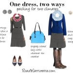 One dress two ways gray