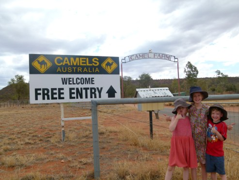 Free entry to a Camel Farm at Stuart's Well earns a thumbs up!