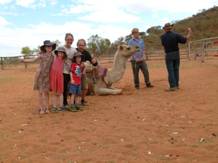 We all loved Burt and our whole experience at the Camel Farm.