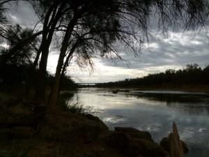 Picturesque Galena Bridge Free camp.