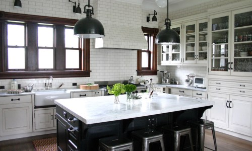 Green is making a comeback in kitchen renovations