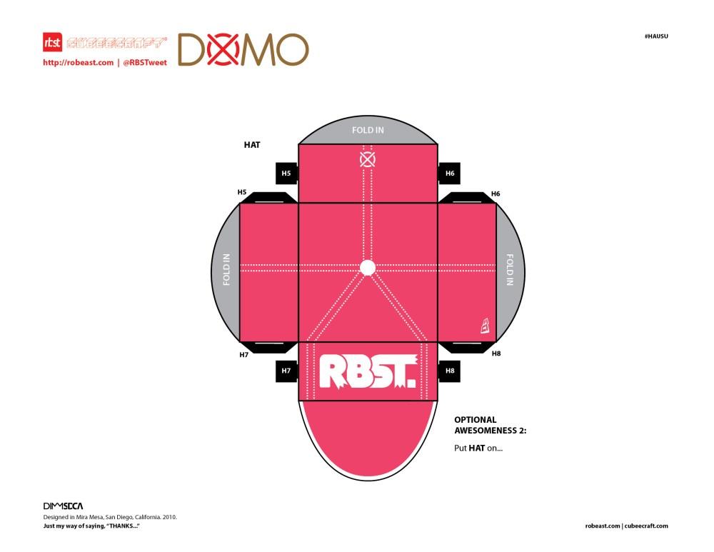 RBST x Hausu x Cubeecraft DOMO (3/3)