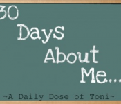 30 days about me