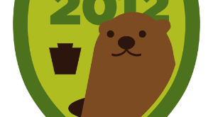 Groundhog Day Badge on Foursquare