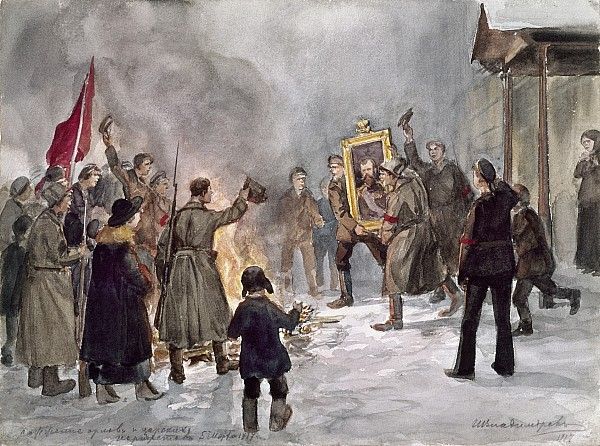 Voline: The February 1917 Revolution in Russia (1/4)