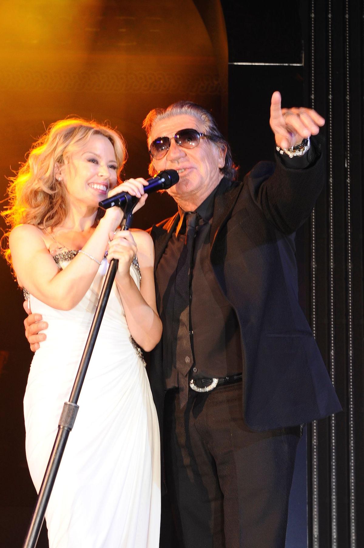 Kylie Minogue e Roberto Cavalli @40th Anniversary Party 2