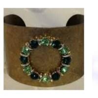 DIY - Cuff Bracelet Bling