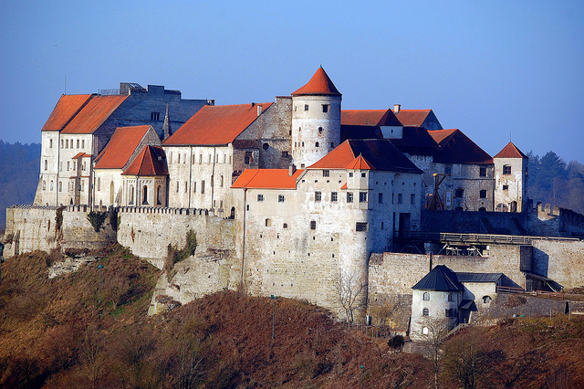 Burghausen Castle - Bavara - picture by Robin Dance