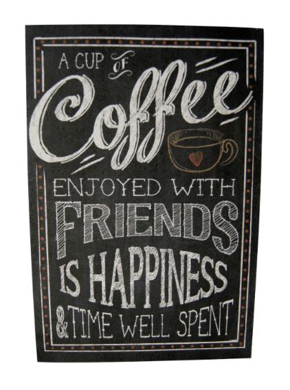 Chalkboard Coffee Print