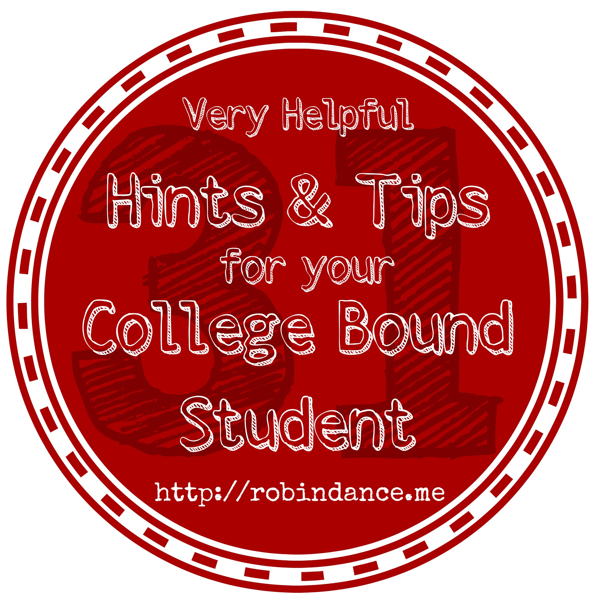 days hints tips for college bound students archives robin share this