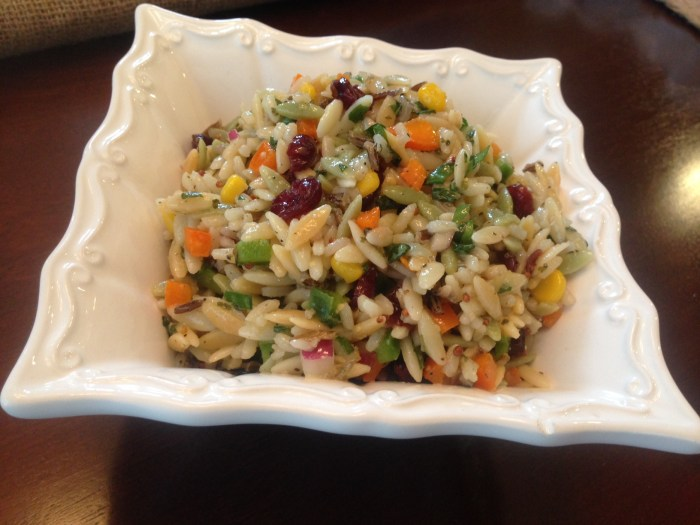 Orzo and Wild Rice - J. Alexanders