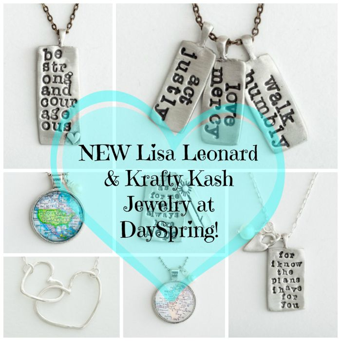 NEW Lisa Leonard Krafty Kash jewelry DaySpring