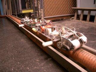 Robot linea de alta tensión