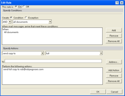 Lotus Notes liberation: How to forward everything to Gmail